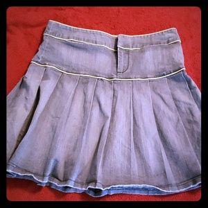 BCBGirl denim skirt